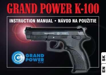 Instruction manual K100 MK6 (EN + SK)