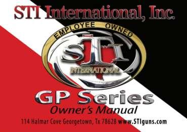 Owners manual GP series (EN)