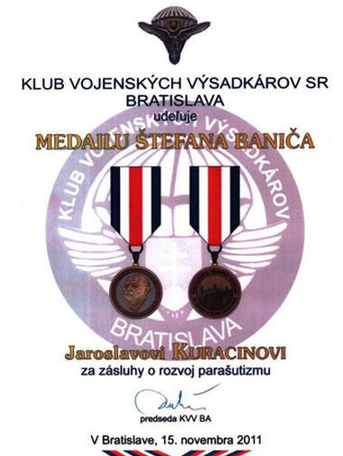 ocenenie_stefana_banica